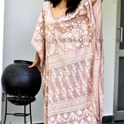 Resort Wear Women's Sexy Cover Ups Kaftan