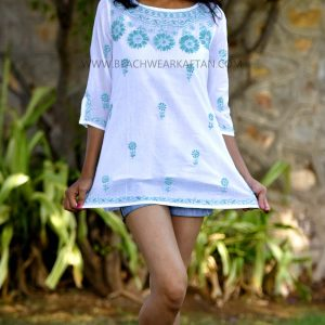 Girls Short Beach Cover Up Tunic