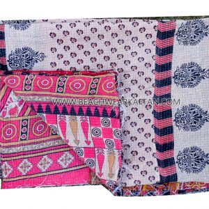 New Latest Reversible Cotton Patchwork Beach Resort Rugs
