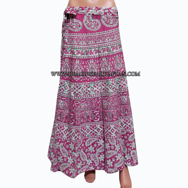 Indian Cotton Magic Wrap Skirt Online